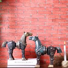Collectible Home Decor Online Get Cheap Horse Figurines Collectibles Aliexpress Com