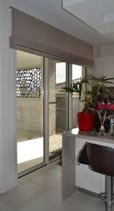 French Door Window Blinds Roller Shades Displaying The Regular Roll Type Shown In Material