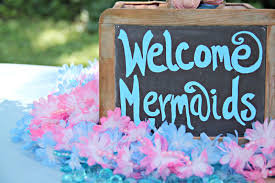 mermaid under the sea 4th birthday party with free printable the