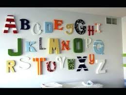 Nursery Wall Decor Letters Nursery Wall Decor Letters Baby Room Decor Wall Letters