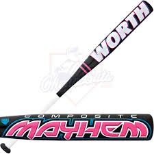 worth softball bat composite youth girl softball bat 11oz fpm11