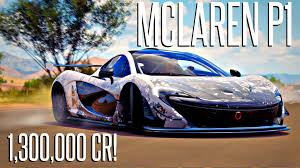 mclaren p1 custom paint job my new mclaren p1 forza horizon 3 youtube