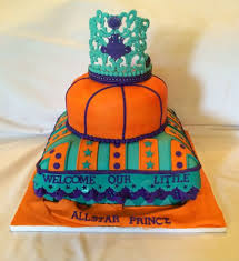 welcome all star prince turquoise purple orange baby shower