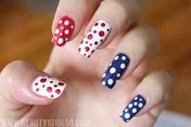 easy fourth of july nail art tutorial beauty 101