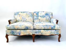Floral Sofas In Style French Sofa Etsy