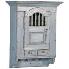 storage u0026 organization antique distressed white hanging cabinet