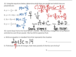 showme linear functions unit test