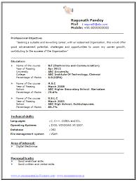 sample resume fresh graduate electronics engineering resume