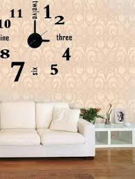 wall clock different types of wall clocks diy 3d wall clock home