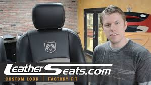 2010 dodge ram seat covers dodge ram crew cab custom 2 tone leather interior upholstery kit