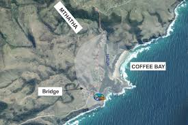 Port Elizabeth South Africa Map by Map Of South Africa Wild Coast Coffee Bay Directions To Coffee