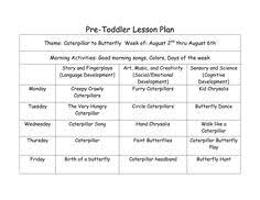 sample of creative curriculum lesson plans for infants toddlers