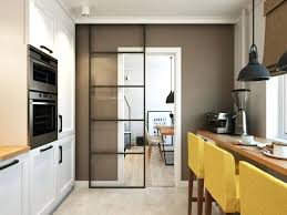 cuisine facade verre meuble de cuisine en verre entre meubles de cuisine meuble haut