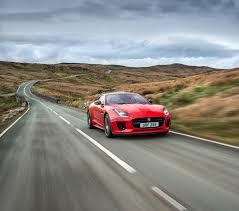 new sports car the new jaguar f type four cylinder a pure sports car with even