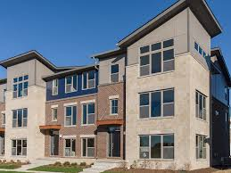 meridian ii floor plan in townhomes at grand and main