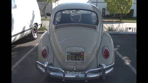 1966 volkswagen beetle paint color restoration youtube