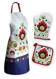 idee cadeau cuisine set de cuisine tablier manique gant de cuisine motif ludique