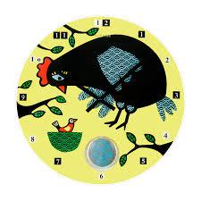 zegar ścienny la poule nextime deco salon interesting clock