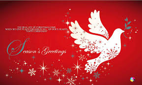 christmas cards messages the real of christmas come when we give place for god in all