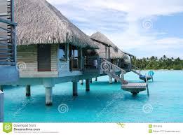 bora bora over water huts royalty free stock photo image 32319545