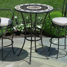 Counter Height Patio Chairs Patio Patio Furniture With Umbrella Pub Table Patio Furniture