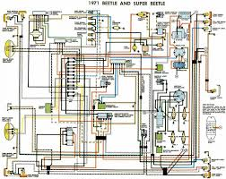1971 volkswagen bug wiring diagram 1971 wiring diagrams