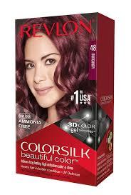 amazon com revlon colorsilk haircolor burgundy 1 count pack