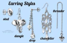 different types of earrings jewelry in depth pierced earring styles bodycandy