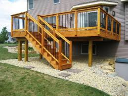 deck stair design ideas regarding your property xdmagazine net