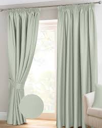 Blackout Curtains Ivory Herringbone Chevron Thermal Blackout Curtains Pair Pencil