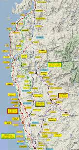 Portugal And Spain Map by Great Camino Portugues Resource Downloadable Maps And Info