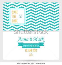 Wedding Cards Invitation Vector Set Wedding Invitation Cards Watercolor Stock Vector