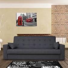 canap convertible capitonn chou sofa bed in cygnet grey made com basel lofts