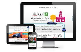 toyota corolla website driving graduates to win u2014 van santen studio