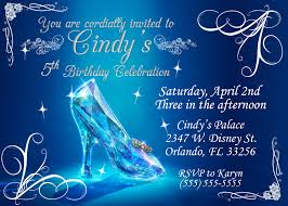 party invitations chic cinderella party invitations designs