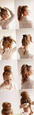 Frisuren Lange Haare Zum Selber Machen by Niedlich Frisuren Lange Haare Selber Machen Dutt Deltaclic