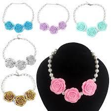 chunky necklace set images Wholesale prettybaby chunky necklace kids princess pearl necklace jpg