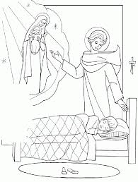 male guardian angel coloring page 410679