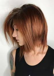 copper and brown sort hair styles 55 incredible short bob hairstyles haircuts with bangs