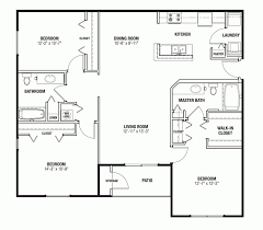 3 bedroom flat architectural plan house plans architecture