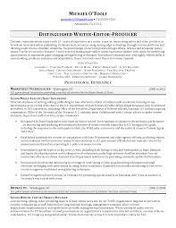 Freelance Resume Samples by Download Writer Editor Resume Haadyaooverbayresort Com