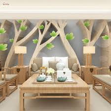 compare prices on 3d tree wallpapers online shopping buy low
