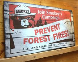 forest service sign etsy