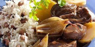 cuisiner boeuf ragoût de boeuf à l antillaise aux haricots rouges recette sur