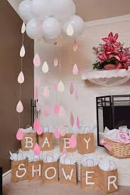 or baby shower baby shower or bridal shower cloud and raindrops beautiful to put