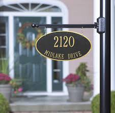 light post with address sign l post hanging address plaques 3 pinterest diy house number