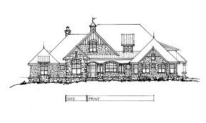 Craftsman House Plans by Conceptual Design 1437 Updated Craftsman House Plan