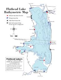 Map Of Montana State by Maps Flathead Lakers