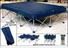 Folding Air Bed Frame Folding Bed Frame For Air Mattress Medium Size Of Bed Frames