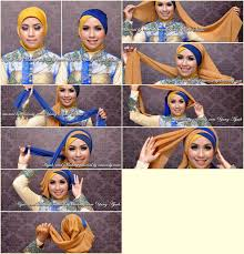 tutorial jilbab dua jilbab tutorial hijab pesta segi empat 2 warna tutorial hijab paling